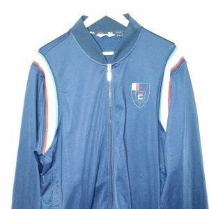 Fila Sport Fullzip Jacket Crest Logo Track Warm Up